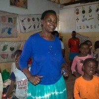 Alice:Kibera group leader